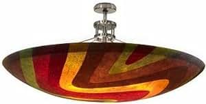 Amazon.com - Oggetti 70-160 8 Light Mosaic SemiFlush Semi