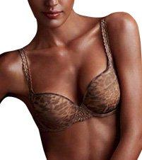 Chantelle 3692 Africa Wild & Sexy T-shirt Underwire Bra (36B, Wild)