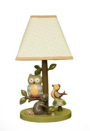 Enchanted Forest Lamp with Shade