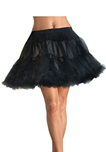 Layered Tulle Petticoat Costume Accessory - One Size