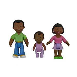 Fisher Price My First Dollhouse Figures African American
