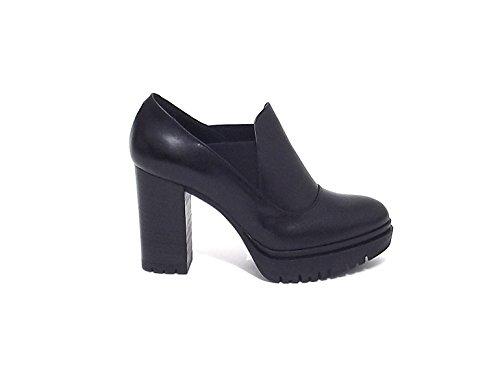 Janet sport donna, articolo 38931, scarpa pelle, nero nr 37