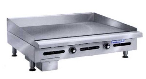 "Imperial - Itg-60-Ob-2 - 60"" Thermostatically Controlled Gas Griddle W/ 2 Open Burners"