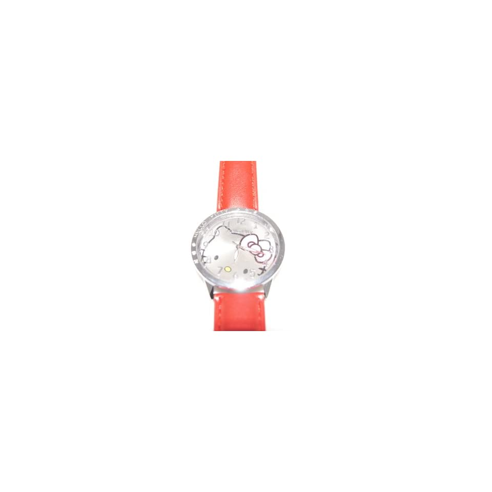 Cute Hello Kitty Watch Color(red) #WN