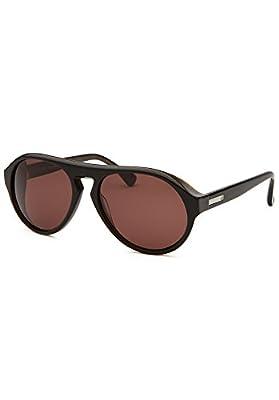 Calvin Klein Men's CK4249S Sunglasses, Black Marble