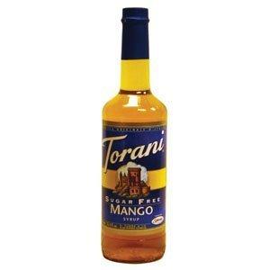 Torani Sugar Free Mango Syrup W/ Splenda, 750 Ml