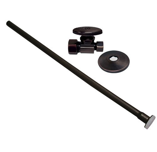 Plumbest S10-37RB Angle Closet Supply and Stop Kit, Oil Rubbed Bronze
