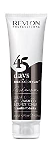 Revlon Revlonissimo 45 Days 2in1 Shampoo & Conditioner Radiant Darks 275ml