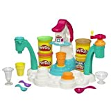 Awesome Play-Doh Magic Swirl Ice Cream Shoppe With Swirl, Scoop And Mold Lots Of Pretend Goodies