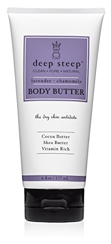 Deep Steep Classic Body Butter, Lavender Chamomile, 6 Fluid Ounce