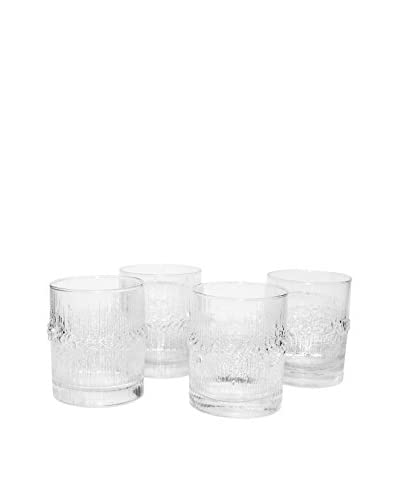 Tapio Wirkkala Set of 4 Glasses, Clear