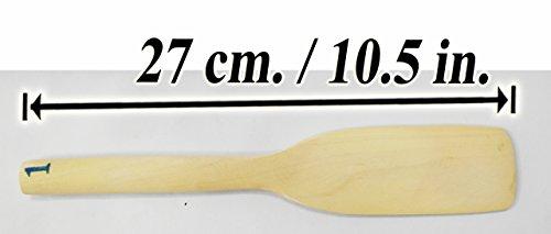 Wooden Paddle Kitchen Gadgets Spade Flipper Cooking Tools Utensils Kitchenware Equipment Large Flat Stirring Mixing Huge Spoons Stirrer Agitator