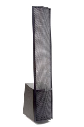 MartinLogan Vantage High-Performance Electrostatic Speaker (Single, Black Ash/Black Aluminum)