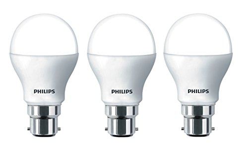Philips Ace Saver 9W B22 825L LED Bulb (Cool Day Light, Pack Of 3)