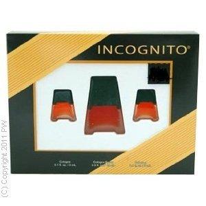 Cover Girl Incognito By Cover Girl For Women. Gift Set ( Eau De Cologne Spray 0.5-Ounces + Eau De Cologne 2 X 3 Ml)