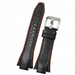 Seiko Original Sportura Leather Black Watch Band