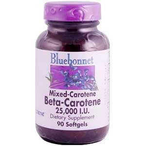 Mixed Carotene Beta-Carotene 25,000IU - 90 - Softgel