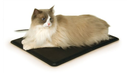 K&H Manufacturing Extreme Weather Heated Kitty Pad 12.5-Inch by 18.5-Inch 40 Watts with FREE Cover