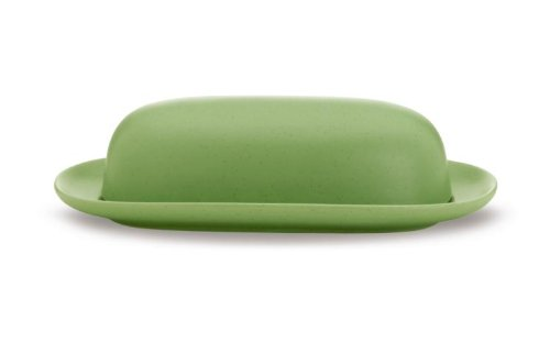Noritake Colorwave Covered Butter Dish, Apple Green