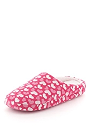 M&S Collection Heart Print Mule Slippers