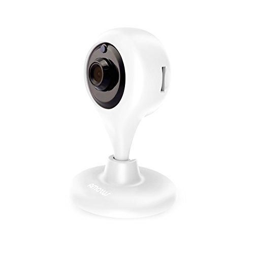 Cam ra ip sans fil amotus accueil surveillance cam ra int rieur nuit vision 2 voies audio cam for Camera de surveillance interieur sans fil