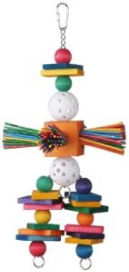 Super Bird Creations Willy Nilly 14×6.5in Bird Toy