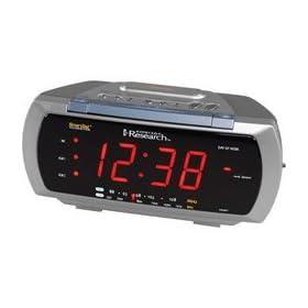 alarm clock low price emerson cks3088t smartset dual. Black Bedroom Furniture Sets. Home Design Ideas