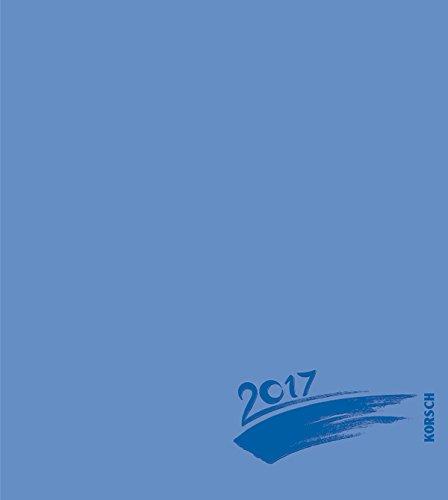 Foto-Malen-Basteln blau mit Folienprägung 2017: Kalender zum Selbstgestalten