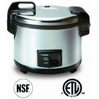 Zojirushi NYC-36 20-Cup (Uncooked) Commercial Rice Cooker and Warmer, Stainless Steel from Zojirushi