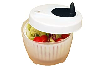 Excelsteel Cook Pro Inc Mini Salad Spinner, 1.4-Quart by ExcelSteel