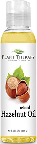 Hazelnut 4 oz Carrier Oil. A Base Oil for Aromatherapy, Essential Oil or Massage use.