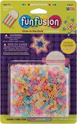 Perler Beads Fuse Beads 2000/Pkg Glow In The Dark Mix 18167; 3 Items/Order