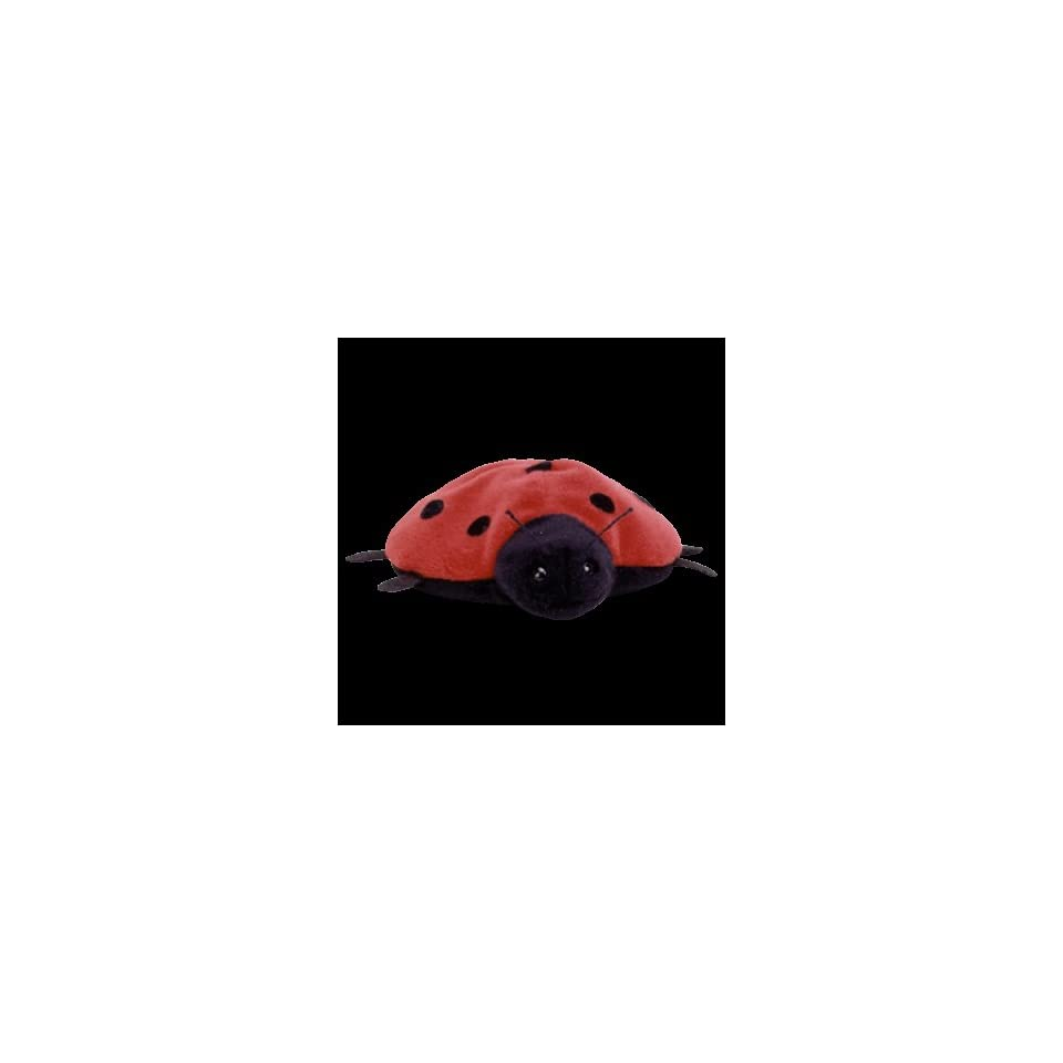 Retired Lucky the Ladybug Ty Beanie Baby on PopScreen 7cc68fdfda37