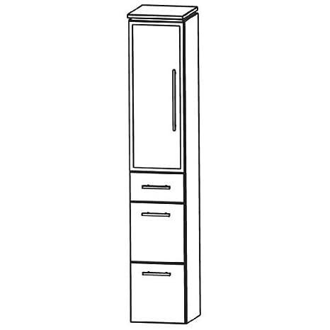 Cool Puris Line (HNA093B5ML / R Tall Cupboard Bathroom Cupboard 30 CM