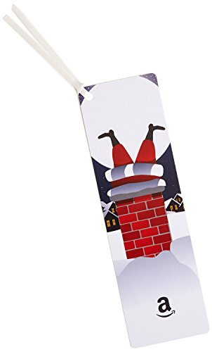 amazoncom-50-gift-card-as-a-bookmark-santa-design