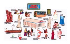 Ancient Greece Bulletin Board Sets / BBS - Multi-Colored; no. EP-2232