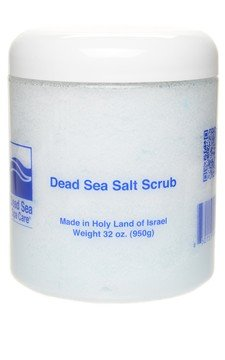 Buy 1, Get 1 Free 32 Oz Almond Dry Salt Scrub, Dead Sea Spa Care