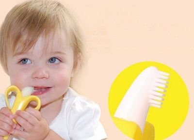 Baby-Banana-Infant-Training-Toothbrush-and-Teether