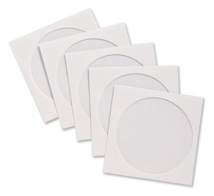 200-x-high-grade-white-cd-dvd-bluray-paper-disc-sleeve-envelopes-with-clear-window-by-dragontradingr