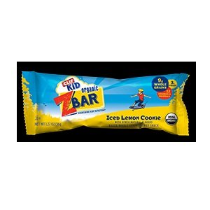 Clif Bar Zbar, 95% Organic, Iced Lemn Cookie, 6/1.27Oz (Pack Of 6 )
