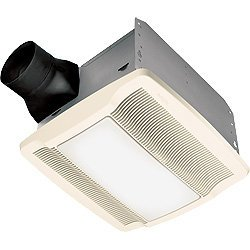 Broan-Nutone QTREN080FLT Ultra Silent Bathroom Fan / Light / Night-Light - ENERGY STAR