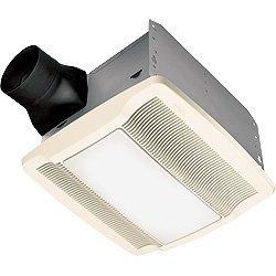Broan-Nutone QTREN080FLT Ultra Silent Bathroom Fan / Light / Night-Light - ENERGY STAR