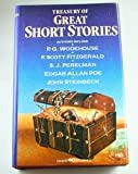 Treasury of Great Short Stories Woodhouse, Fitzgerald, Perelman, Poe, Steinbeck (0671086243) by P.G. Woodhouse