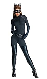 Secret Wishes Batman Dark Knight Rises Adult Catwoman, Black, Medium