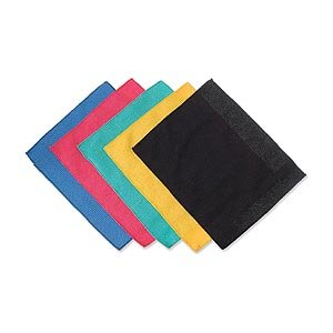 Microfiber Cleaning Cloths, 18cm, 5 Pack