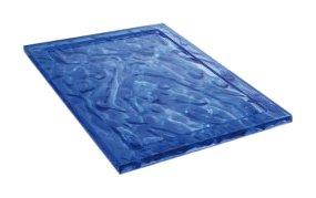 "Kartell 1200VB - Vassoio ""Dune"", Colore: Blu"