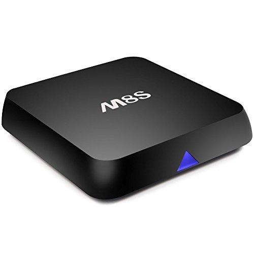 Zenopige M8S Android 4K Mini Media Player TV BOX Amlogic S812 Quad Core 2.0 GHz 4.4 HD KODI/XBMC 2G RAM 8G ROM 2.4G/5G WIFI Bluetooth 4.0