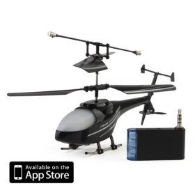 3 Channel I-Helicopter 777-171 with Gyro Controlled by iPhone/iPad/iPod iTouch (Black)