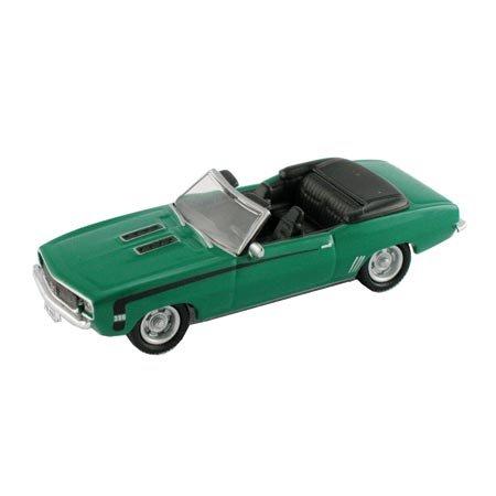HO Die-Cast 1969 Chevy Camaro 396 SS, Green - Buy HO Die-Cast 1969 Chevy Camaro 396 SS, Green - Purchase HO Die-Cast 1969 Chevy Camaro 396 SS, Green (Model Power, Toys & Games,Categories,Play Vehicles,Trains & Railway Sets)