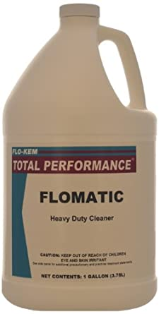 Flo kem 0635 industrial concrete floor cleaner and for Concrete floor degreaser